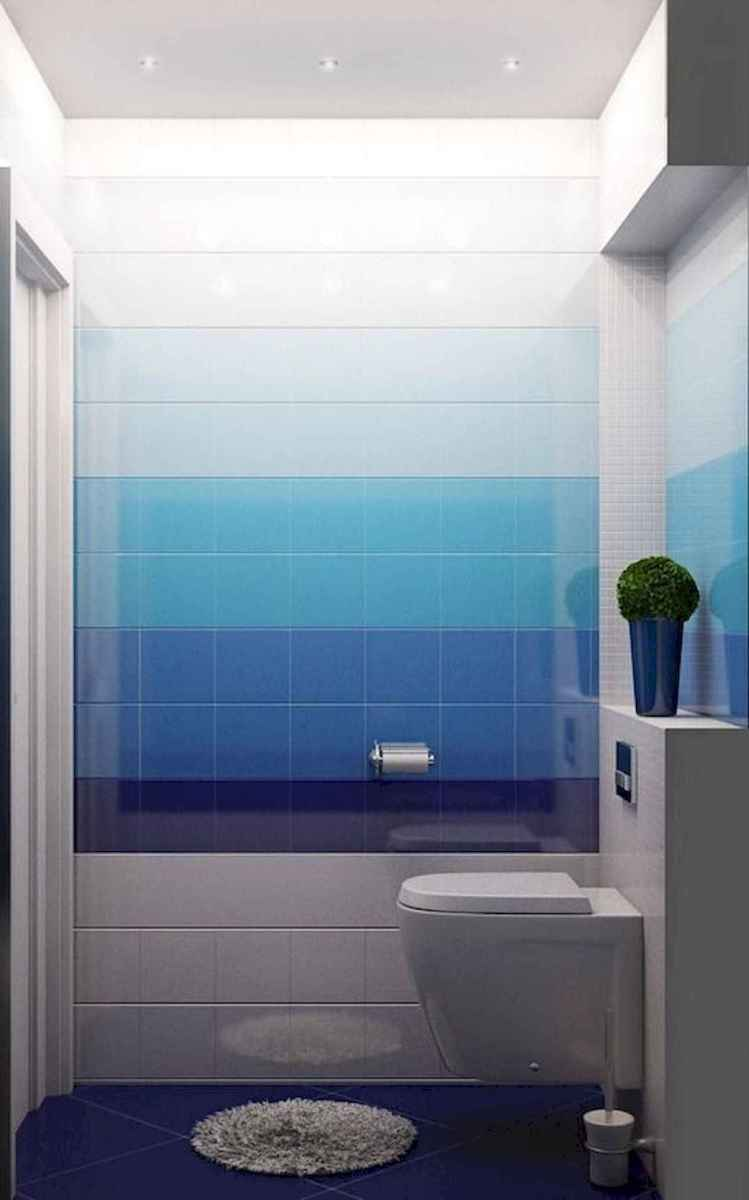70+ Cool Colorful Bathroom Decor Ideas And Remodel for Summer Project (10)