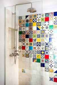 70+ Cool Colorful Bathroom Decor Ideas And Remodel for Summer Project (13)