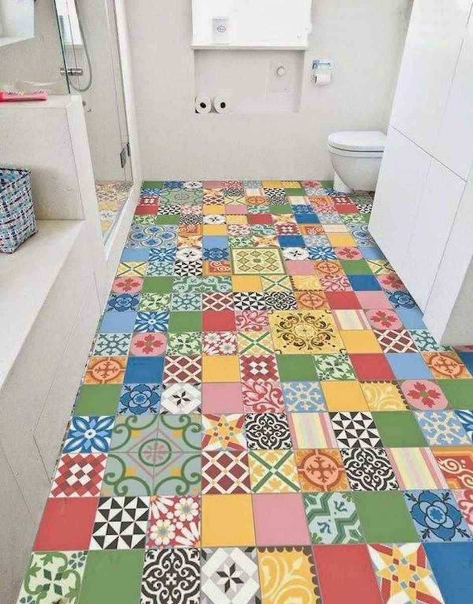 70+ Cool Colorful Bathroom Decor Ideas And Remodel for Summer Project (3)