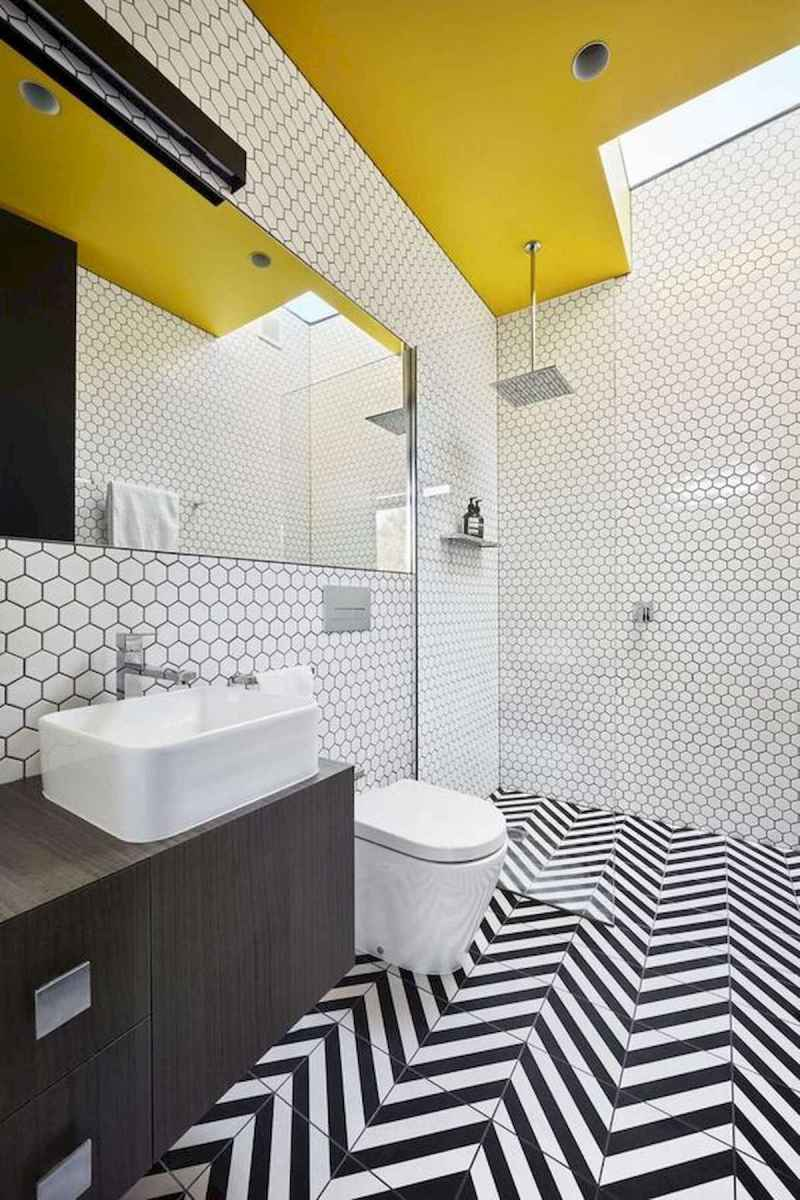 70+ Cool Colorful Bathroom Decor Ideas And Remodel for Summer Project (35)
