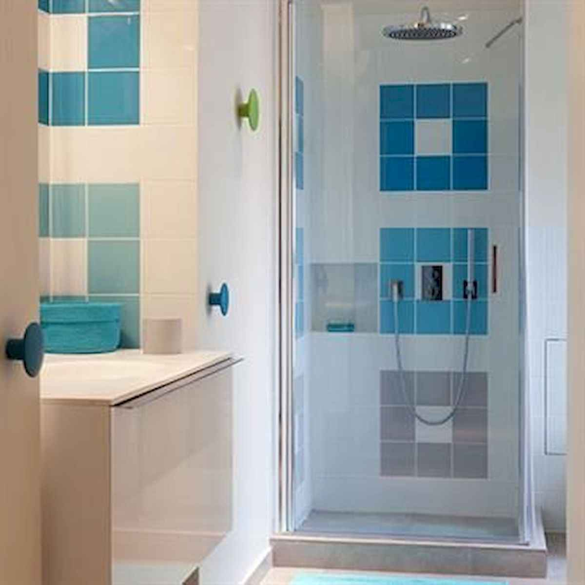 70+ Cool Colorful Bathroom Decor Ideas And Remodel for Summer Project (9)