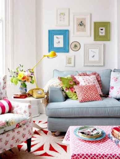 70 Fantastic Summer Living Room Decor Ideas (38)