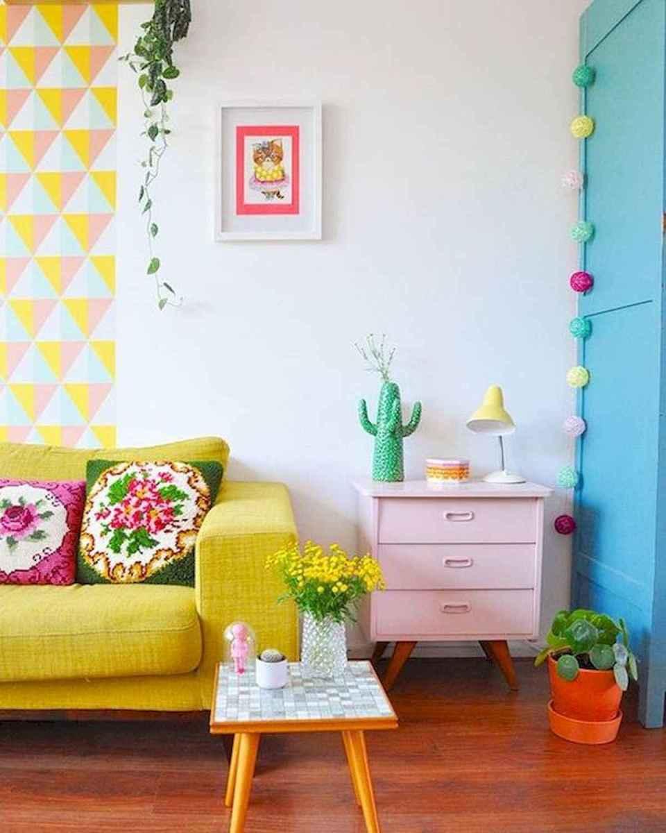 70 Fantastic Summer Living Room Decor Ideas (45)