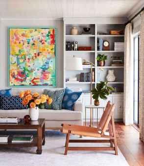 70 Fantastic Summer Living Room Decor Ideas (65)