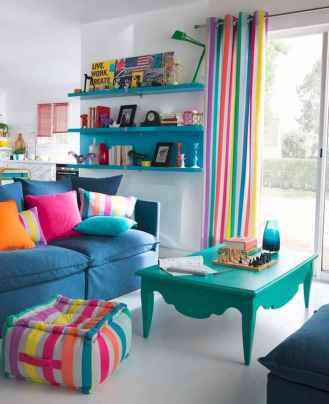 70 Fantastic Summer Living Room Decor Ideas (8)