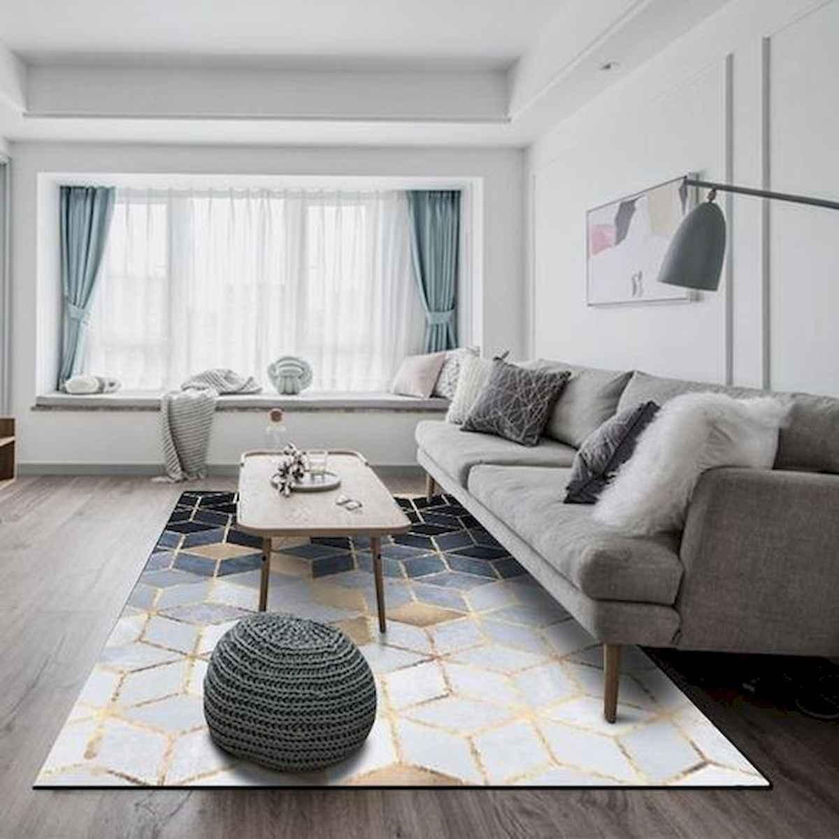 70 Stunning Grey White Black Living Room Decor Ideas And Remodel (1)