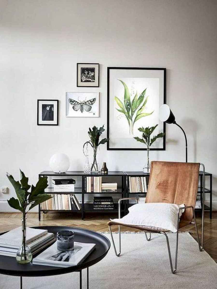70 Stunning Grey White Black Living Room Decor Ideas And Remodel (23)