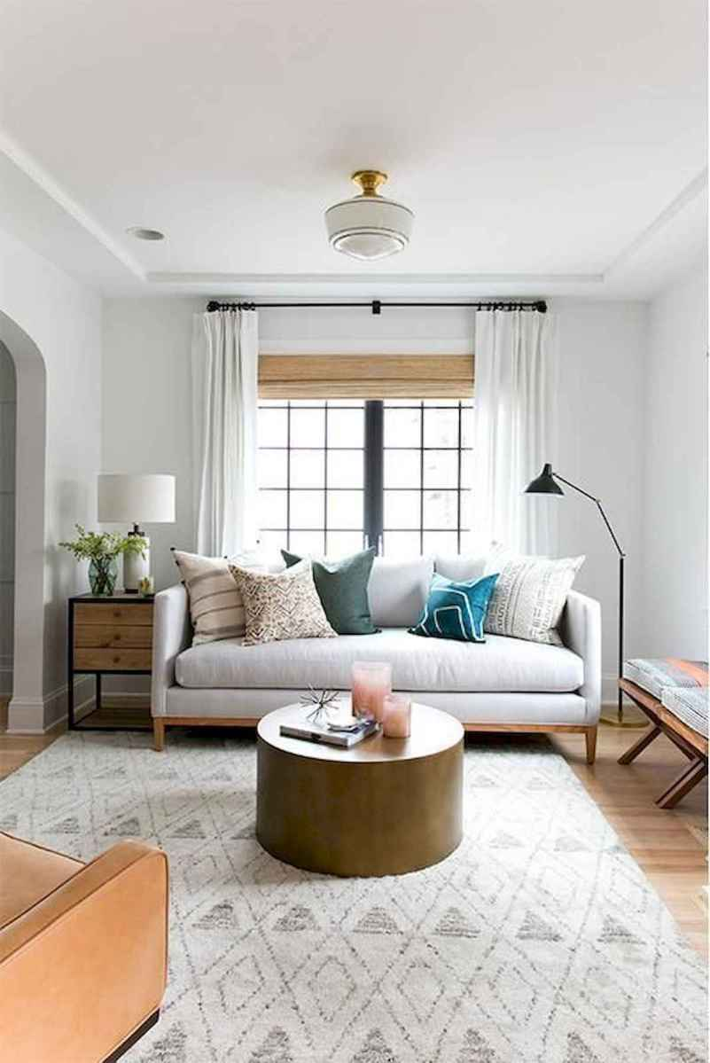 70 Stunning Grey White Black Living Room Decor Ideas And Remodel (24)