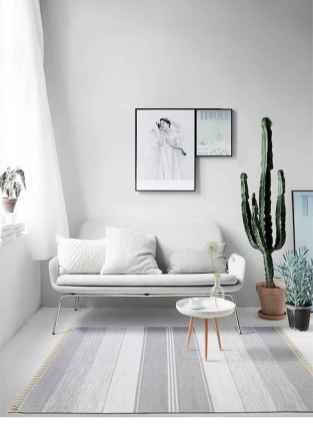 70 Stunning Grey White Black Living Room Decor Ideas And Remodel (71)