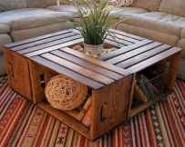 70 Suprising DIY Projects Mini Pallet Coffee Table Design Ideas (15)