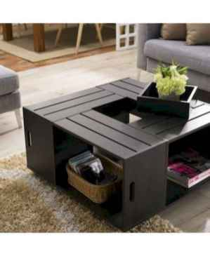 70 Suprising DIY Projects Mini Pallet Coffee Table Design Ideas (2)
