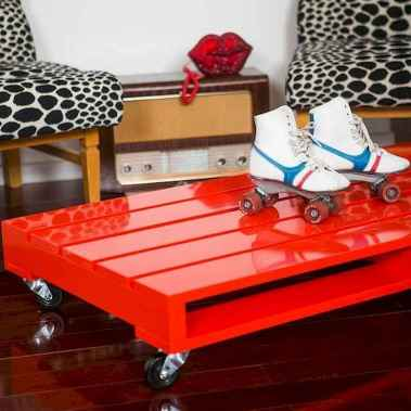 70 Suprising DIY Projects Mini Pallet Coffee Table Design Ideas (25)