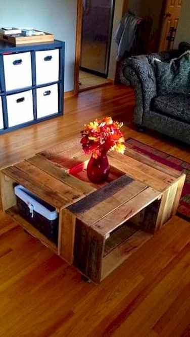 70 Suprising DIY Projects Mini Pallet Coffee Table Design Ideas (37)