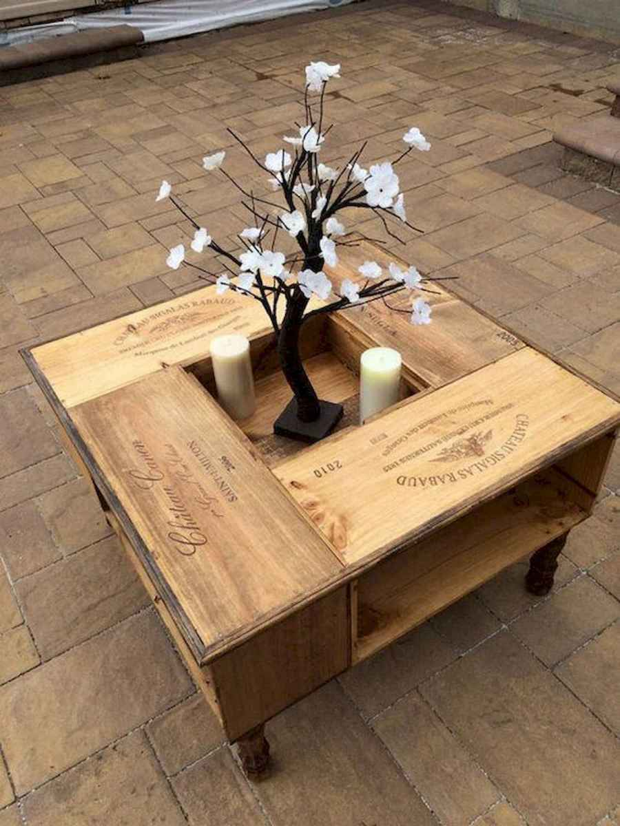 70 Suprising DIY Projects Mini Pallet Coffee Table Design Ideas (50)
