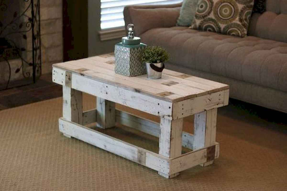 70 Suprising DIY Projects Mini Pallet Coffee Table Design Ideas (64)