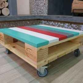 70 Suprising DIY Projects Mini Pallet Coffee Table Design Ideas (9)