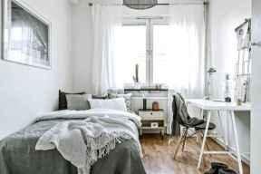 80 Fantastic Small Apartment Bedroom College Design Ideas and Decor (1)