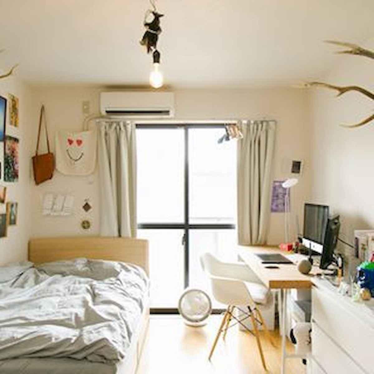 80 Fantastic Small Apartment Bedroom College Design Ideas and Decor (15)