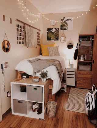 80 Fantastic Small Apartment Bedroom College Design Ideas and Decor (27)