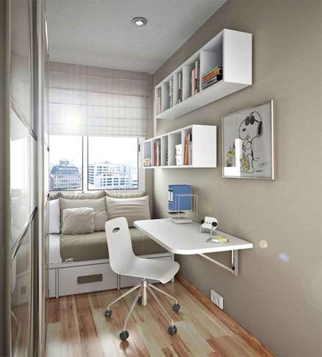 80 Fantastic Small Apartment Bedroom College Design Ideas and Decor (45)
