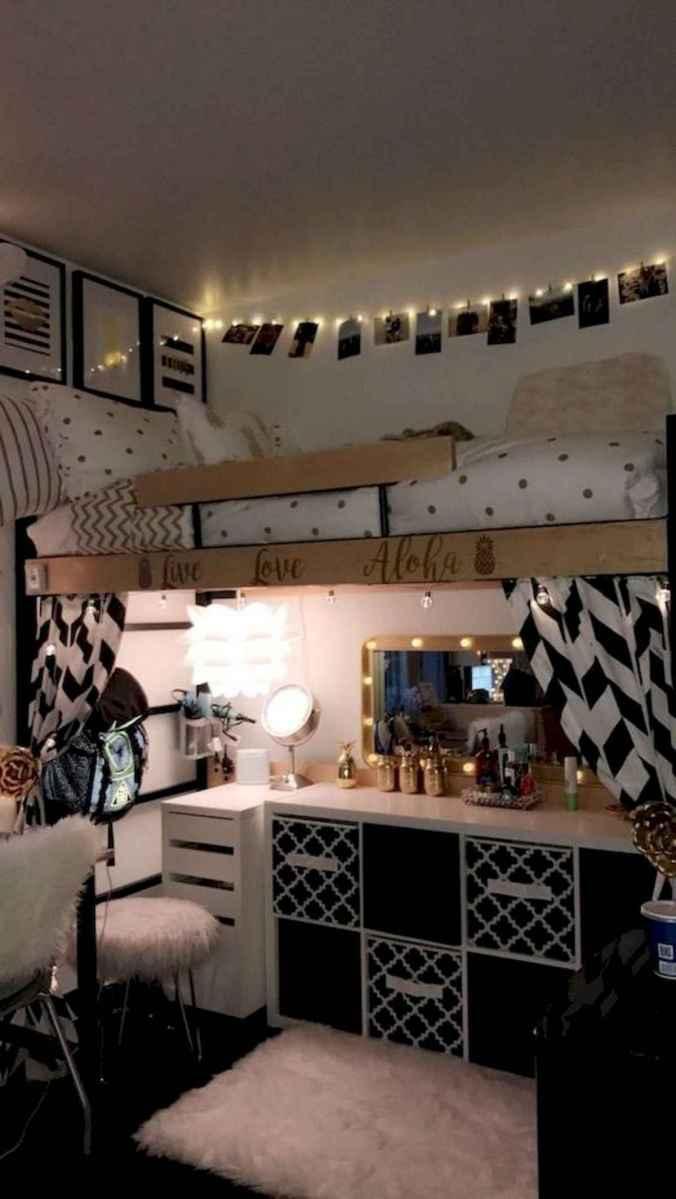 80 Fantastic Small Apartment Bedroom College Design Ideas and Decor (51)