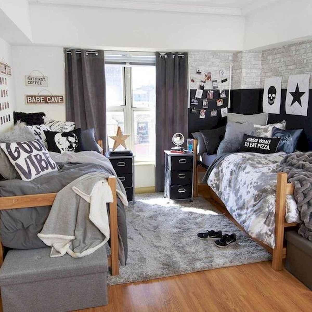 80 Fantastic Small Apartment Bedroom College Design Ideas and Decor (55)
