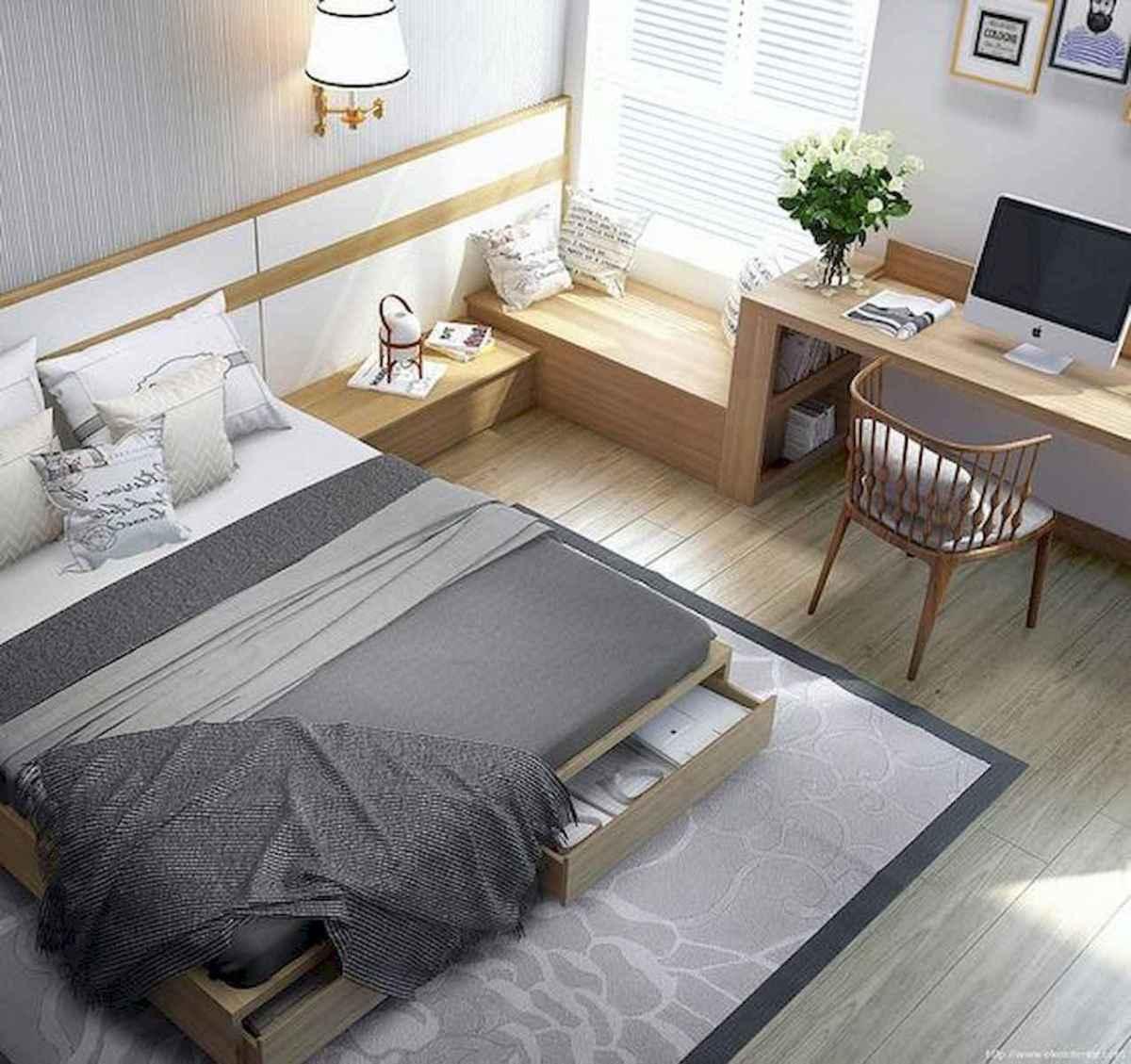 80 Fantastic Small Apartment Bedroom College Design Ideas and Decor (62)