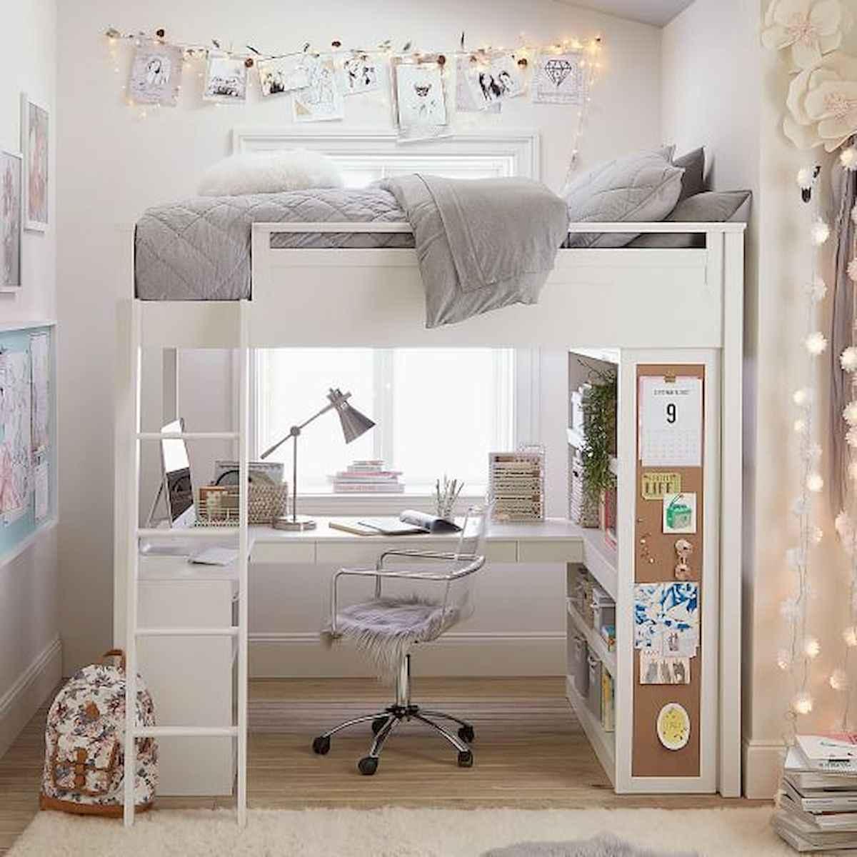 80 Fantastic Small Apartment Bedroom College Design Ideas and Decor (71)
