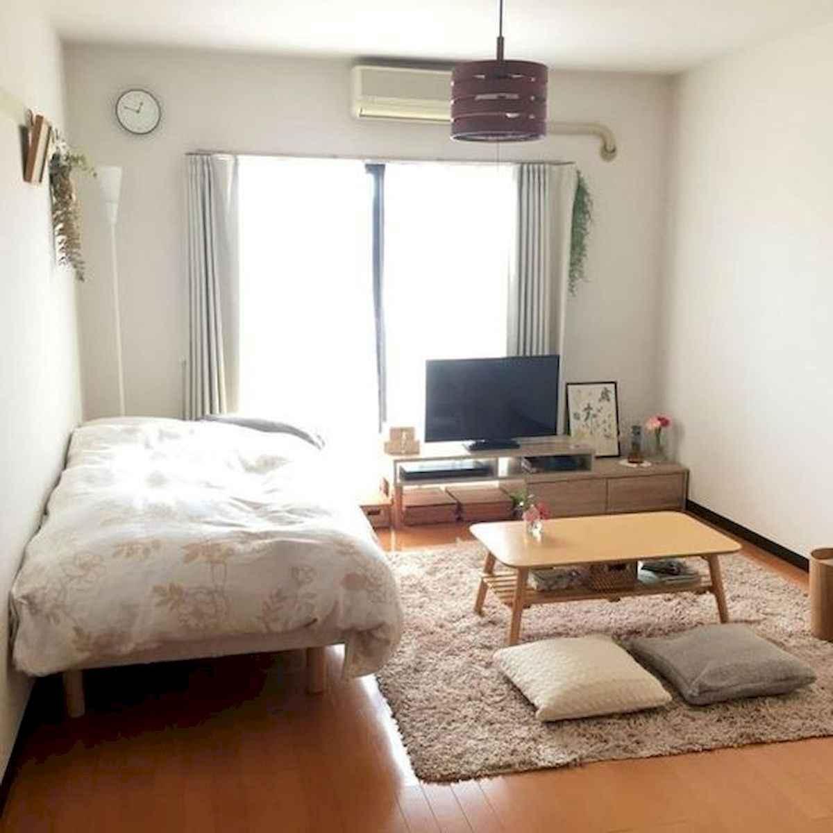 80 Fantastic Small Apartment Bedroom College Design Ideas and Decor (73)