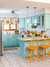 80+ Favorite Colorful Kitchen Decor Ideas And Remodel for Summer Project (18)