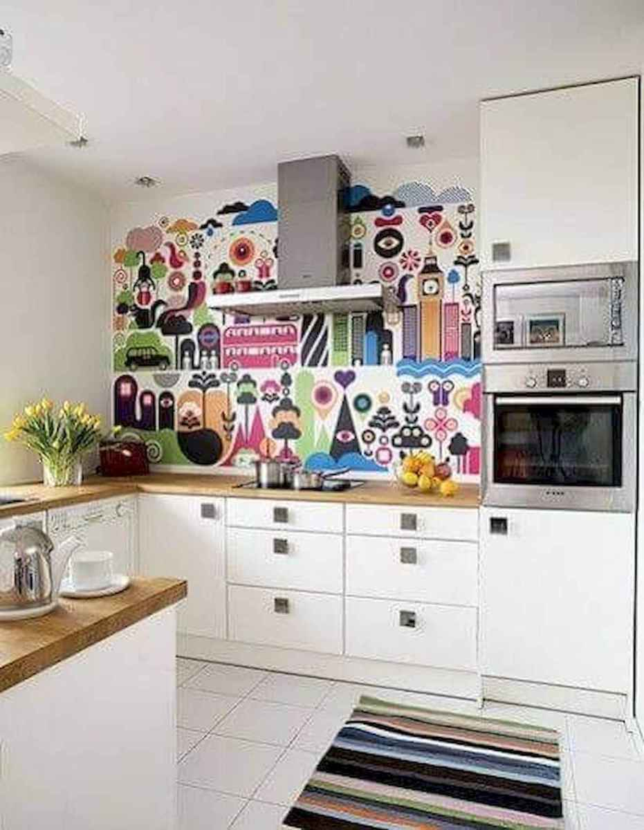 80+ Favorite Colorful Kitchen Decor Ideas And Remodel for Summer Project (47)