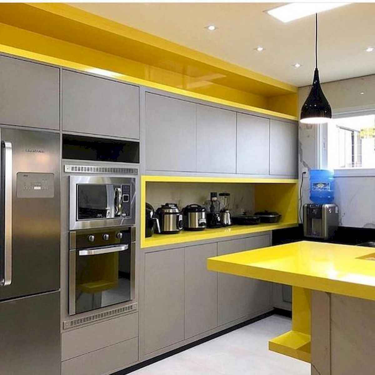 80+ Favorite Colorful Kitchen Decor Ideas And Remodel for Summer Project (53)