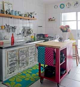 80+ Favorite Colorful Kitchen Decor Ideas And Remodel for Summer Project (54)