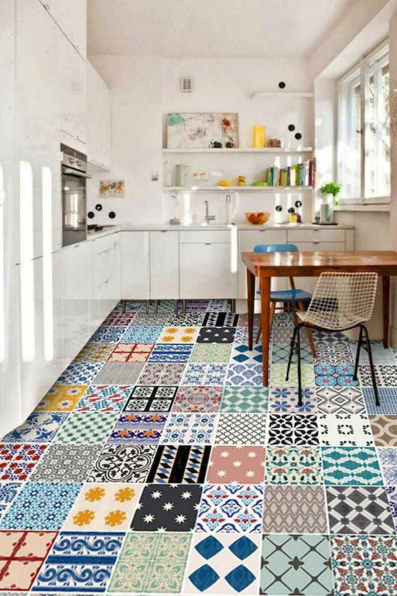 80+ Favorite Colorful Kitchen Decor Ideas And Remodel for Summer Project (63)