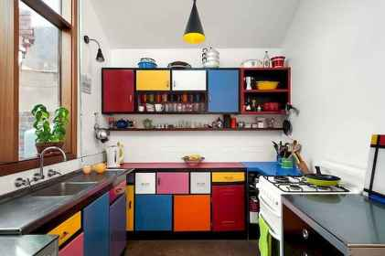 80+ Favorite Colorful Kitchen Decor Ideas And Remodel for Summer Project (73)