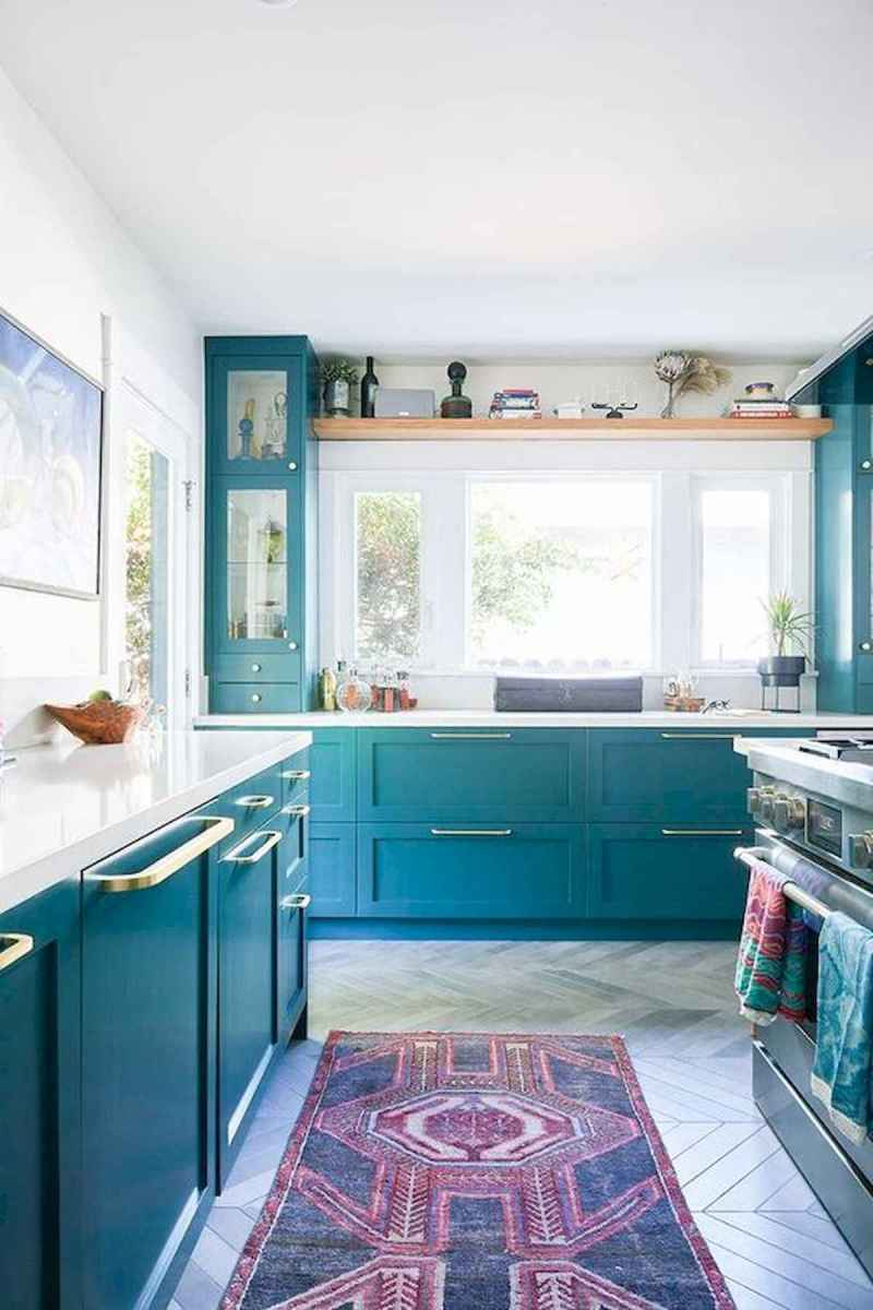 80+ Favorite Colorful Kitchen Decor Ideas And Remodel for Summer Project (83)