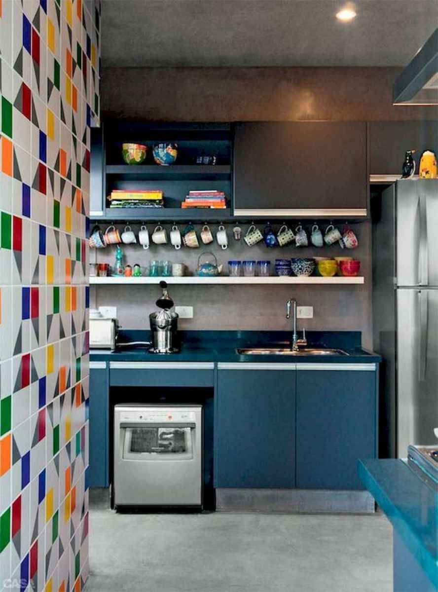80+ Favorite Colorful Kitchen Decor Ideas And Remodel for Summer Project (85)
