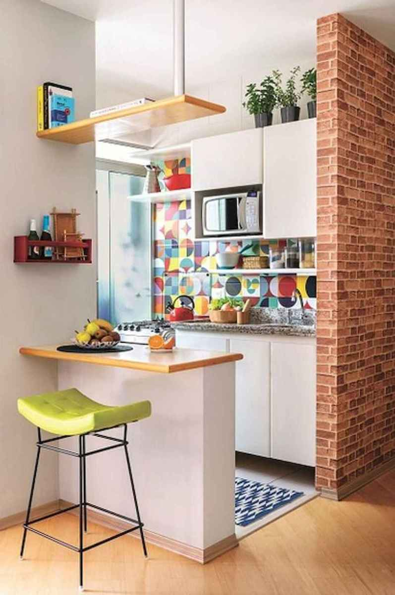 80+ Favorite Colorful Kitchen Decor Ideas And Remodel for Summer Project (88)