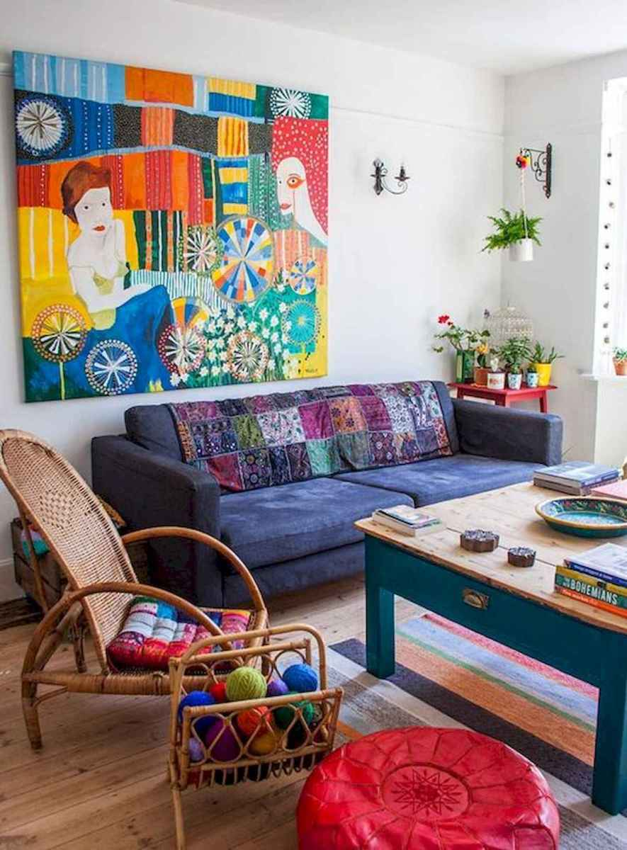 80+ Stunning Colorful Living Room Decor Ideas And Remodel for Summer Project (11)