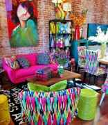 80+ Stunning Colorful Living Room Decor Ideas And Remodel for Summer Project (68)