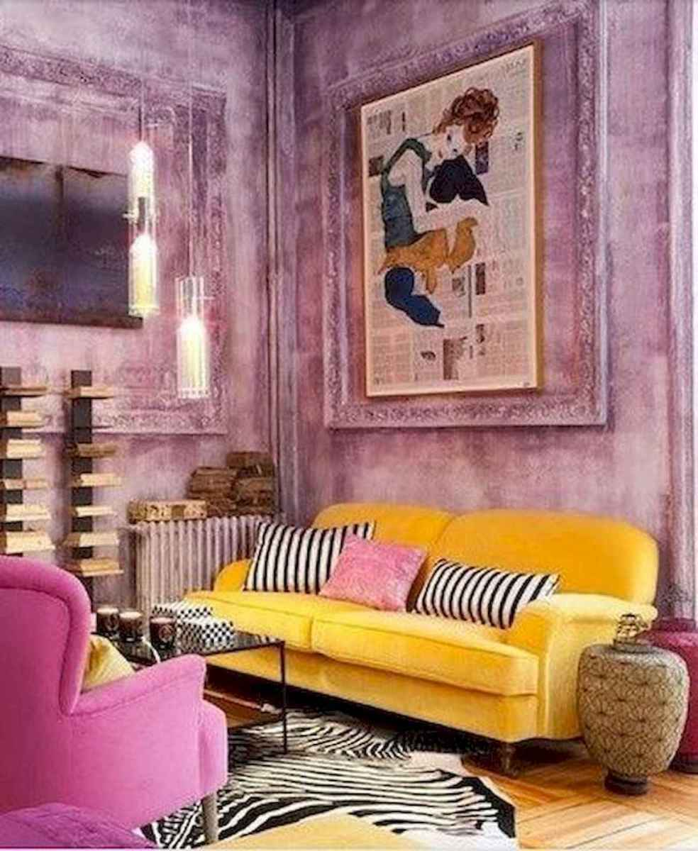 80+ Stunning Colorful Living Room Decor Ideas And Remodel for Summer Project (69)