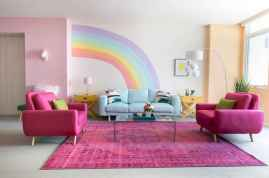 90+ Creative Colorful Apartment Decor Ideas And Remodel for Summer Project (83)