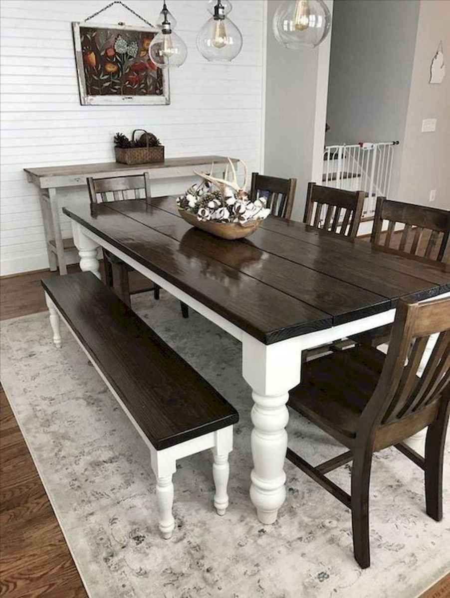 55 Stunning DIY Projects Furniture Tables Dining Rooms Design Ideas (15)