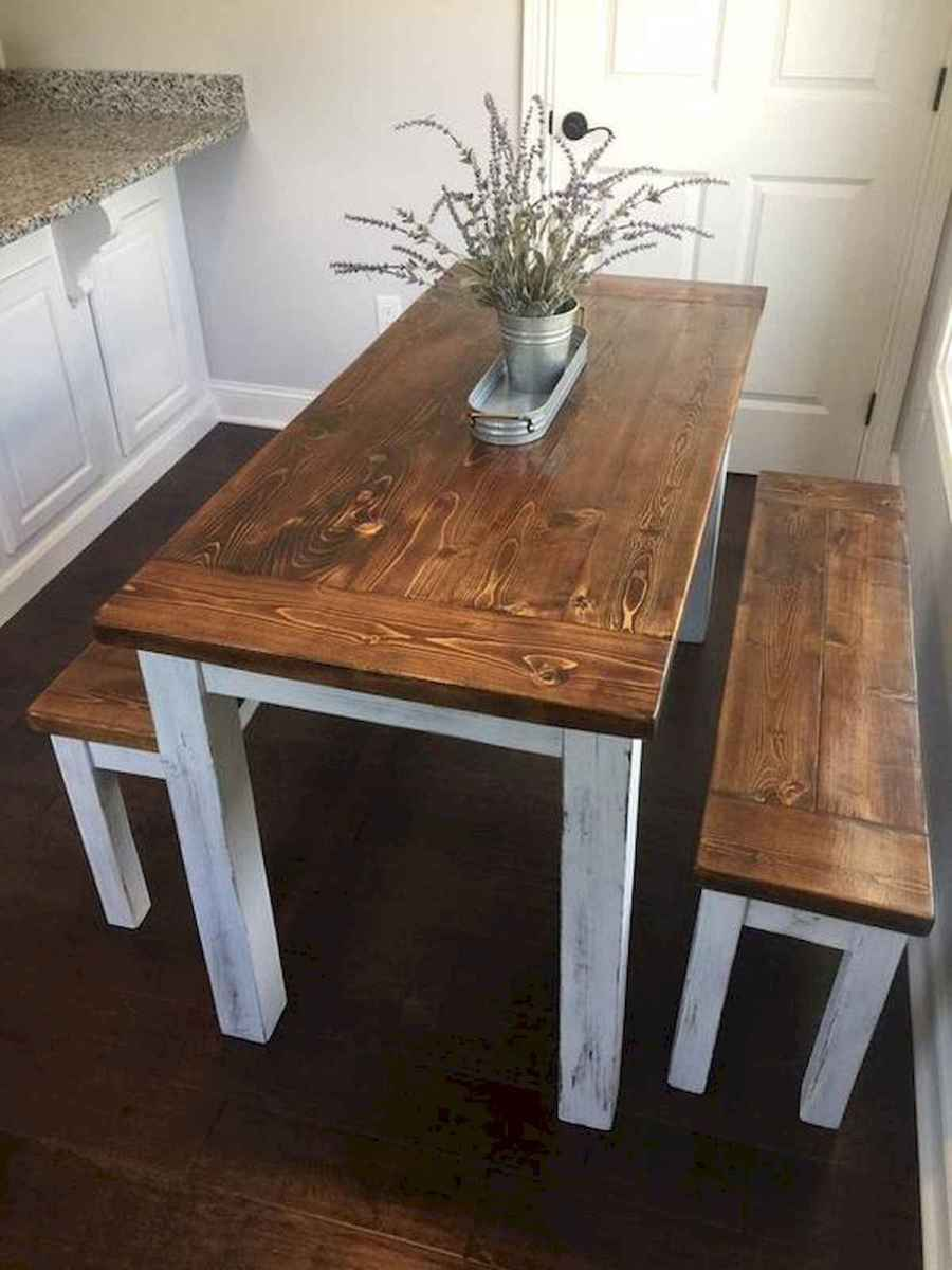 55 Stunning DIY Projects Furniture Tables Dining Rooms Design Ideas (35)
