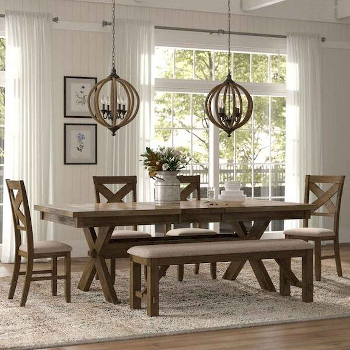 55 Stunning DIY Projects Furniture Tables Dining Rooms Design Ideas (4)