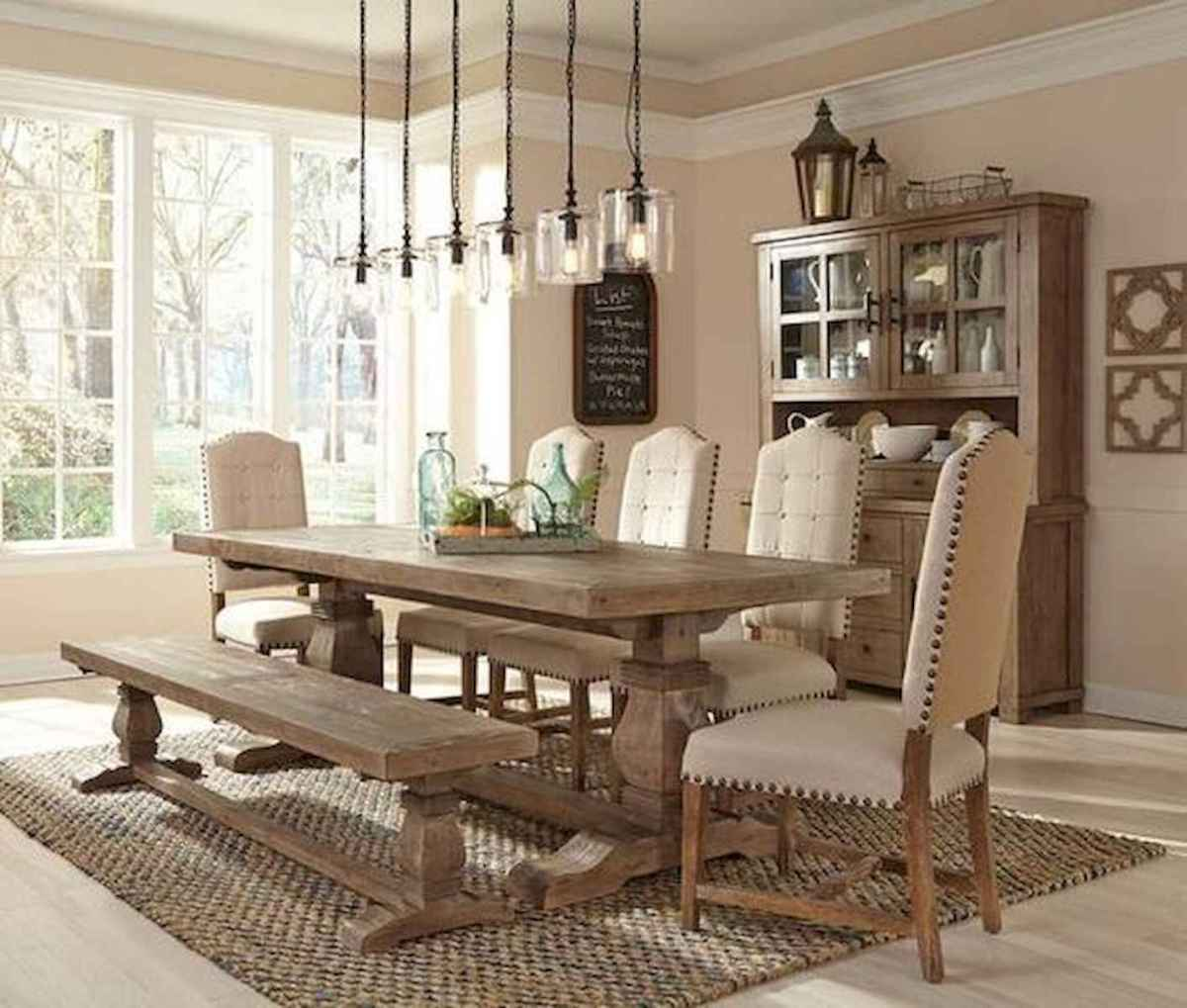 55 Stunning DIY Projects Furniture Tables Dining Rooms Design Ideas (40)