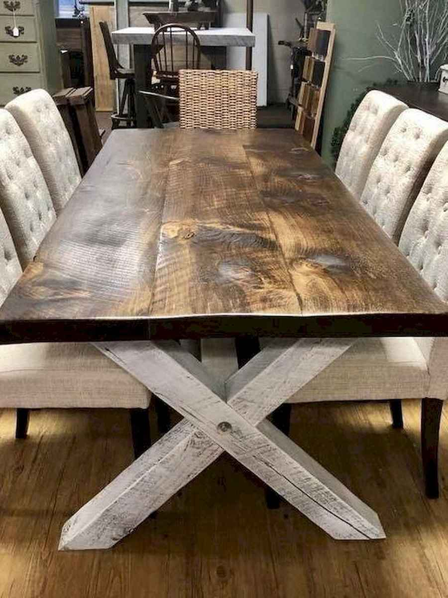 55 Stunning DIY Projects Furniture Tables Dining Rooms Design Ideas (41)