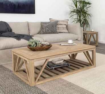 60 Creative DIY Projects Furniture Living Room Table Design Ideas (12)