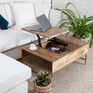 60 Creative DIY Projects Furniture Living Room Table Design Ideas (60)