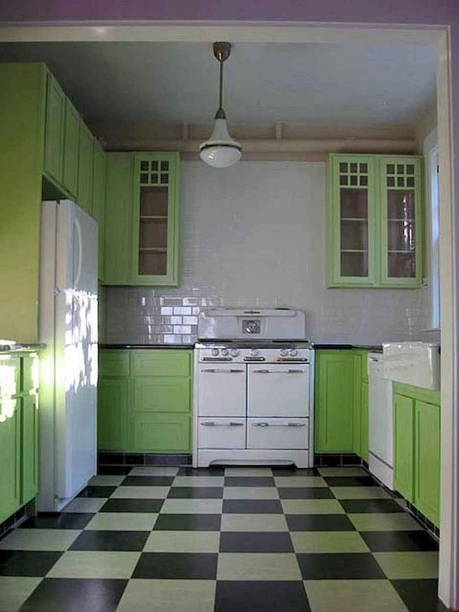 60 Lovely Painted Kitchen Cabinets Two Tone Design Ideas (53)